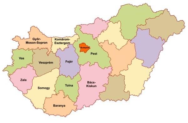 megye térkép megye terkep ablakcsere   Megbízható ablak megye térkép