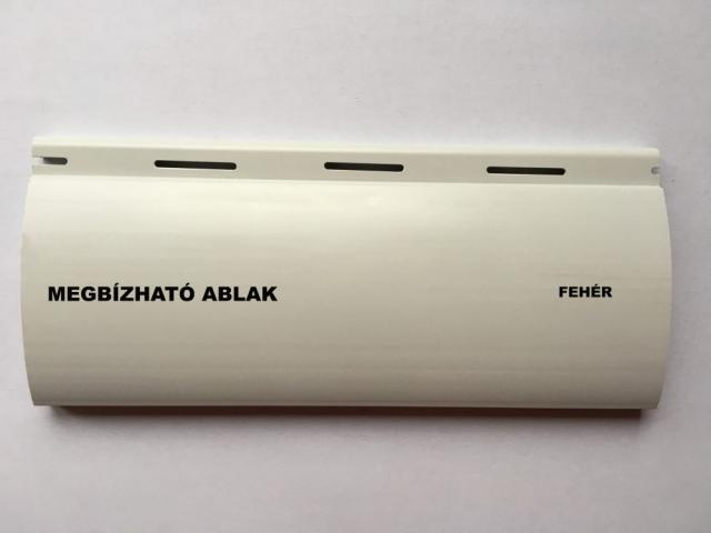 Maxi műanyag redőny - Fehér - Megbízható ablak