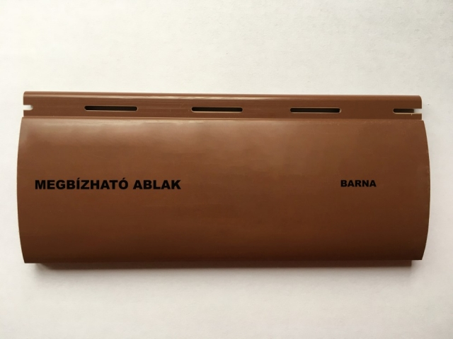 Maxi műanyag redőny - Barna - Megbízható ablak