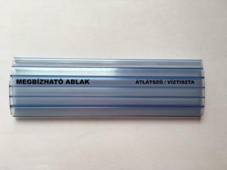 Műanyag redőny - Átlátszó / Víztiszta - Megbízható ablak