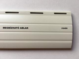 Műanyag redőny - Fehér - Megbízható ablak