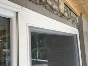 Elhúzható szúnyogháló ajtó